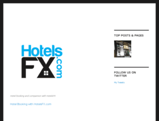 hotelsfx.com screenshot
