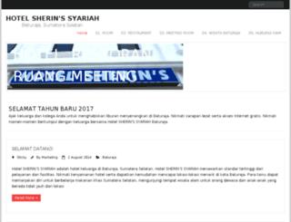 hotelsherin.com screenshot