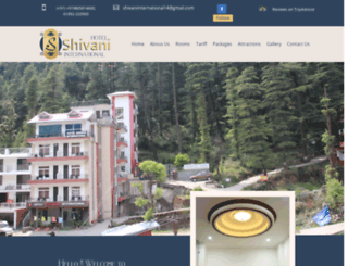 hotelshivaniinternational.com screenshot