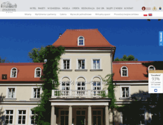hotelsierakow.pl screenshot