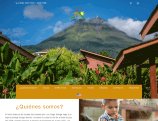 hotelsilenciodelcampo.com screenshot