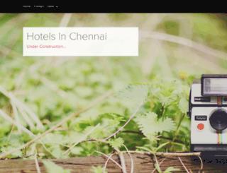 hotelsinchennai.snack.ws screenshot