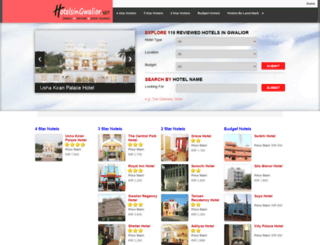 hotelsingwalior.net screenshot