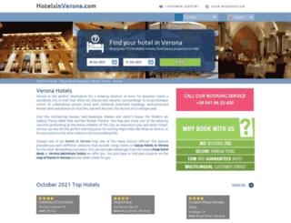 hotelsinverona.com screenshot