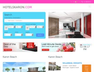 hotelskaron.com screenshot