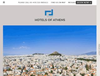 hotelsofathens.hotelgenius.co screenshot