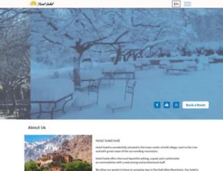 hotelsoleilimlil.com screenshot