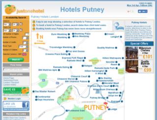 hotelsputney.co.uk screenshot