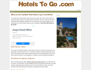 hotelstogo.com screenshot