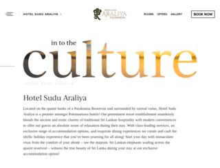 hotelsuduaraliya.com screenshot