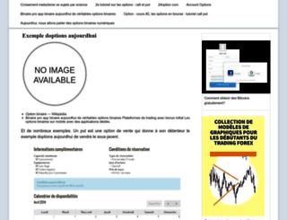 hotelsunvalley.fr screenshot