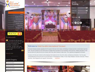 hotelsurabhi.com screenshot