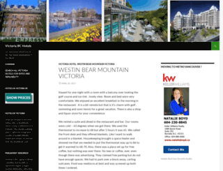 hotelsvictoria.wordpress.com screenshot