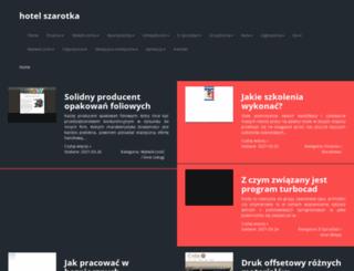 hotelszarotka.pl screenshot