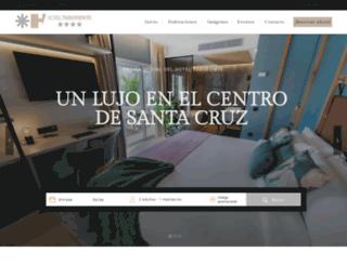 hoteltaburiente.es screenshot