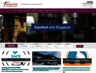 hoteltashkonak.com screenshot