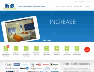hoteltrafficbuilders.com screenshot