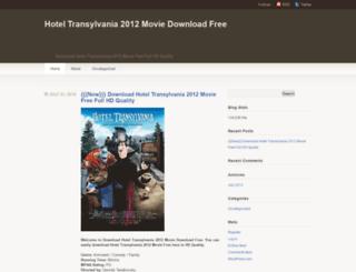 hoteltransylvania2012downloadfree.wordpress.com screenshot
