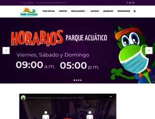 hotelvalledorado.com screenshot