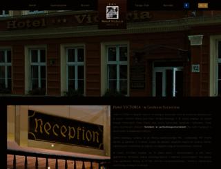 hotelvictoria.com.pl screenshot