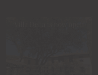 hotelvilladelia.com screenshot