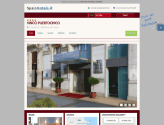 hotelvinccipuertochicosantander.spainhotels.it screenshot