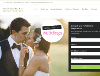 hotelweddingblocks.com screenshot
