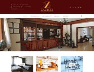 hotelzacisze.com.pl screenshot