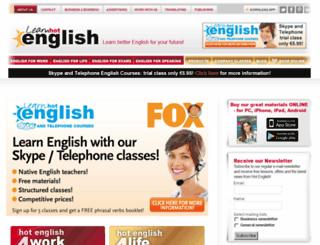 hotenglishmagazine.com screenshot