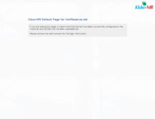 hotfileserve.net screenshot