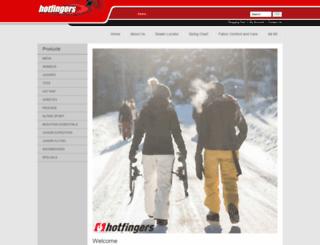 hotfingersgloves.com screenshot