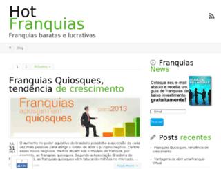 hotfranquias.com.br screenshot