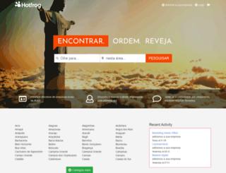 hotfrog.com.br screenshot