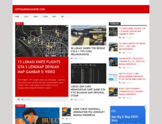 hotgamemagazine.com screenshot