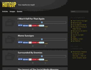 hotgup.com screenshot