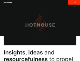 hothouseinc.com screenshot
