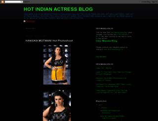 hotindianactressblog.blogspot.com screenshot