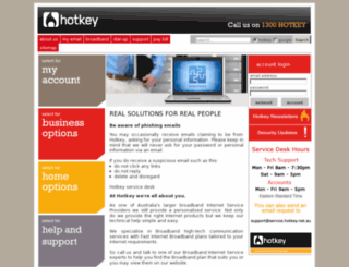 hotkey.net.au screenshot