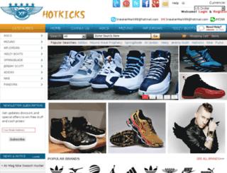 hotkicks.net screenshot