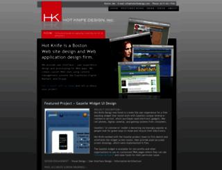 hotknifedesign.com screenshot