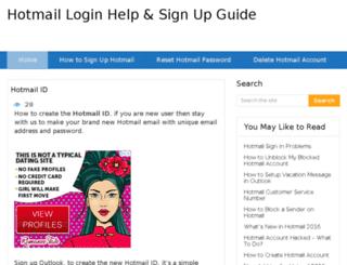 hotmailcom-login.net screenshot