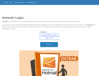 hotmailloginin.com screenshot