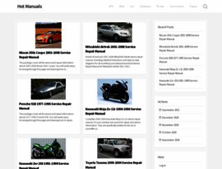 hotmanuals.com screenshot