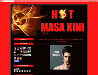 hotmasakini.blogspot.com screenshot