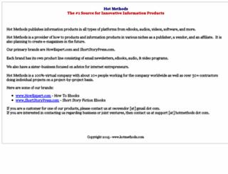hotmethods.com screenshot