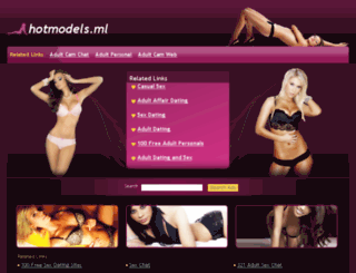 hotmodels.ml screenshot