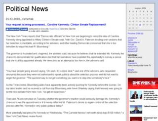 hotnews.blog.hr screenshot