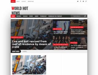 hotnews3w.blogspot.com screenshot