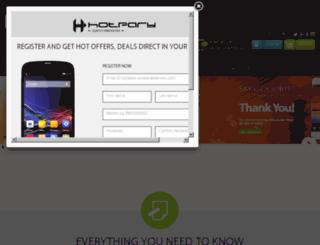hotpary.com screenshot