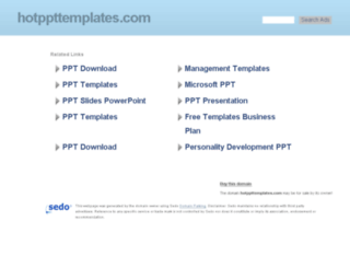 hotppttemplates.com screenshot